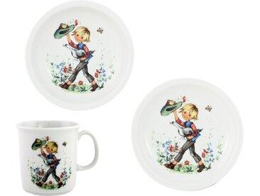 Kindergeschirr-Set »Hans im Glück«, mehrfarbig, Material Porzellan, Eschenbach, Motiv, spülmaschinenfest