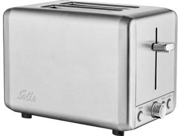 Toaster, silber, SOLIS OF SWITZERLAND