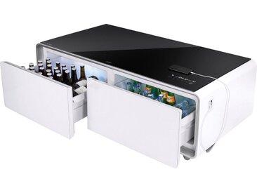 Caso Getränkekühlschrank Sound & Cool #790, 46 cm hoch, 130,5 cm breit, Loungetisch inkl. Soundbar und Getränkekühler, Energieeffizienz: A