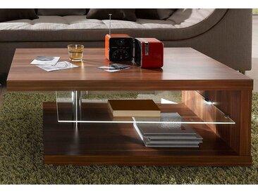 RAUM.ID  Couch-Tisch, braun, mit LED-Beleuchtung