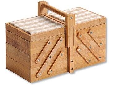 Nähkasten, FSC®-zertifiziert, braun, Material Bambus, KESPER for kitchen & home