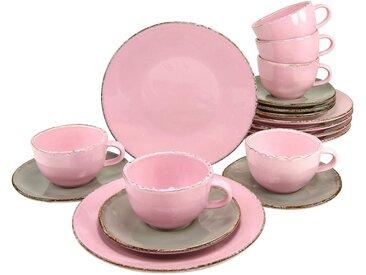Kaffeeservice »ELLA«, rosa, CreaTable, spülmaschinengeeignet