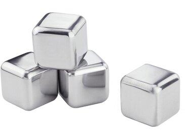 Eiswürfelform »Edelstahl-Eiswürfel«, silber, 2,6 x 2,6cm, Contento