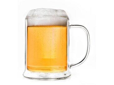 Glas, Thermoglas in Bierglas Optik, 0,5 Liter, Material Thermoglas, Creano