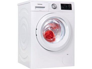 SIEMENS Waschmaschine,  Fassungsvermögen8 kg, Energieeffizienzklasse A+++, weiß