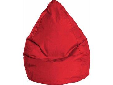 Sitz-Sack  »BRAVAL L«, B/T/H: 70x70x120 cm, rot, Material Polystyrol / Polyester, Sitting Point