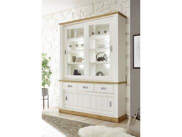 Buffetschrank »ORLANDO«, 150x204x40 cm (BxHxT), Landhaus-Stil, FSC®-zertifiziert, Home affaire, Material Holzwerkstoff