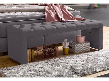 Bettbank, grau, ATLANTIC home collection