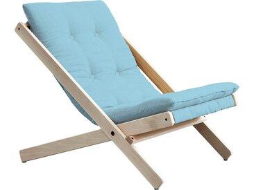 Karup Design  Faltstuhl  Bezugsqualität 1, FSC®-zertifiziert, blau, Material Buche »Boogie«