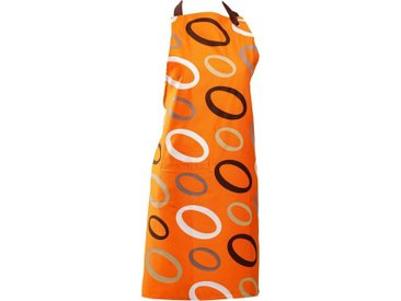 bugatti Kochschürze , orange, Öko-Tex-Zertifikat, »Ellipse«, ,