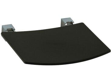 Keuco Duschklappsitz Plan, belastbar bis 110 kg, schwarz