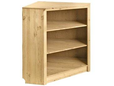 Eckregal, FSC®-zertifiziert, beige, Material Holz, heine home,  lackiert
