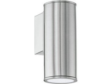 LED Außen-Wandleuchte, silber, Material Edelstahl »Riga«, EGLO