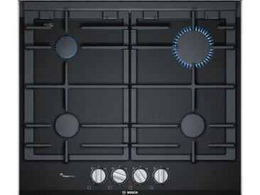 BOSCH Gas-Kochfeld Serie 8 PRP6A6D70D, schwarz
