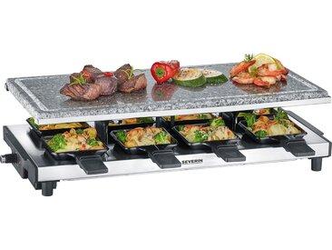 Severin Raclette RG 2374, 8 Raclettepfännchen, 1700 W