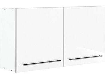 Hängeschrank »Trient«, 100x57x34 cm (BxHxT), Held Möbel, weiß, Material Metall