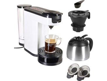 Senseo Kaffeepadmaschine SENSEO® Switch HD6592/00, 1l Kaffeekanne, Papierfilter