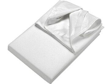 Matratzen Auflage , weiß, Material Baumwolle / Polyester »Frottee Matratzenschutz«, SETEX