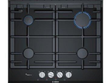 BOSCH  Gaskochfeld Serie 8 PRP6A6D70D, schwarz, Material Gusseisen