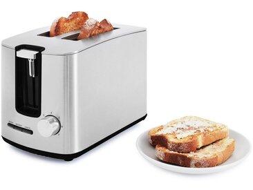 Toaster, silber, Material Edelstahl, Sharp