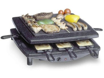 Raclette, schwarz, Steba