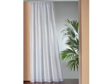 Wirth Vorhang , H/B: 175/135 cm, weiß, Material Stoff »Fertiggardine«, Gemustert