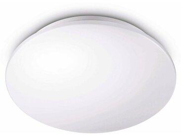 Philips LED Deckenleuchte, weiß »myLiving Moire 2700K 1100lm, Weiß«