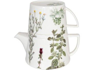 Teekanne »Tea for me - Kräuter«, mehrfarbig, Könitz, spülmaschinengeeignet