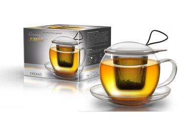 Gläser-Set, Material Borosilikatglas / Edelstahl »Jumbo«, Creano