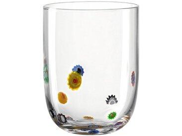 Gläser-Set »Millefiori«, Landhaus-Stil, transparent, LEONARDO