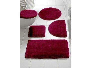 Badezimmer-Garnitur einfarbig einfarbig einfarbig, rot, ca. 70/110cm, heine home