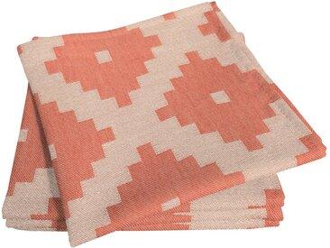 Stoffserviette, orange, Material Bio-Baumwolle »Maroccan Shiraz Light«, Adam