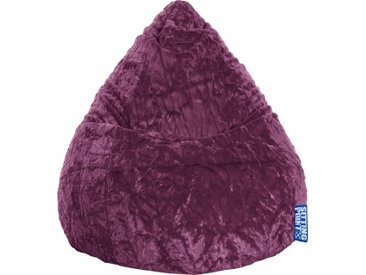 Sitz-Sack  »Fluffy L«, lila, Material Polystyrol / Polyester, Sitting Point