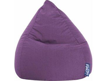 Sitz-Sack  »EASY L«, lila, Material Polystyrol / Polyester, Sitting Point