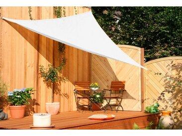 Sonnensegel »Dreieck«, Floracord, weiß, Material HDPE, Polyethylen