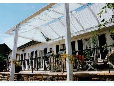 Sonnensegel »Bausatz Universal«, Floracord, weiß, Material Polyester, wasserabweisend
