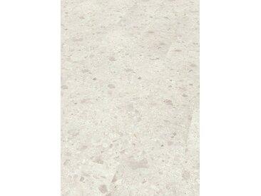 EGGER Laminat »Triestino Terrazzo weiss«, authentische Steinoptik, universell einsetzbar