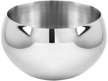 Fink Wein- und Sektkühler Apollo, Edelstahl, moderne Form, Ø 30 cm