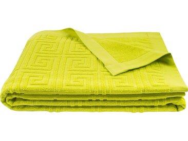 Strandhandtuch   »Water Leg«, grün, zoeppritz, unifarben