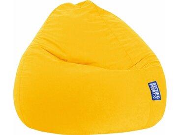 Sitz-Sack  »EASY XXL«, gelb, Material Polystyrol / Polyester, Sitting Point