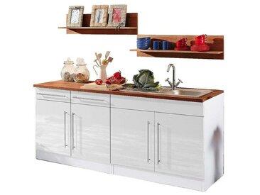 Held Möbel Küchenzeile, weiß »Keitum«
