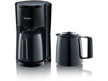 Severin Filterkaffeemaschine KA 9252, 1l Kaffeekanne, 1x4, mit 2 Thermokannen