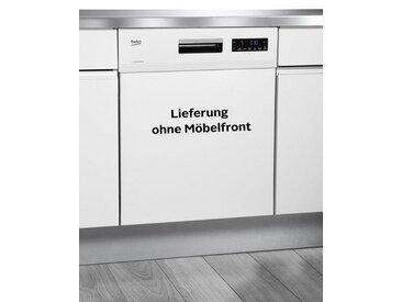teilintegrierbarer Geschirrspülmaschine, DSN6634W2, 9,5 l, 14 Maßgedecke, mit Startzeitvorwahl, Energieeffizienz: A++, weiß, BEKO