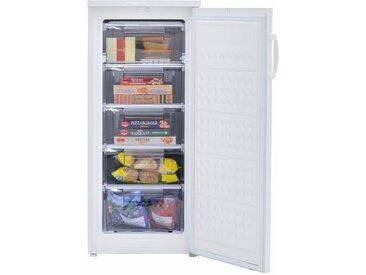 Tiefkühlschrank GS 145-5 A++, 125,0 cm hoch, 54,5 cm breit, Energieeffizienz: A++, weiß, exquisit, Sterne
