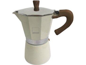 Espresso-Kocher Venezia, Material Aluminium / Edelstahl, gnali & zani