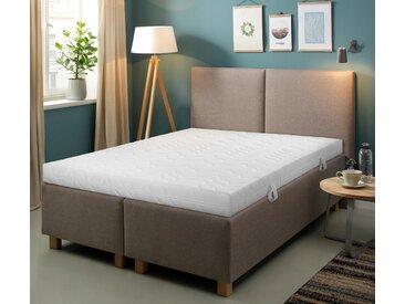 BeCo Komfortschaummatratze + Rollrost , 90x200 cm, 7-Zonen, Material Komfortschaum »Smart M & Quick 28«, ca. 16 cm hoch