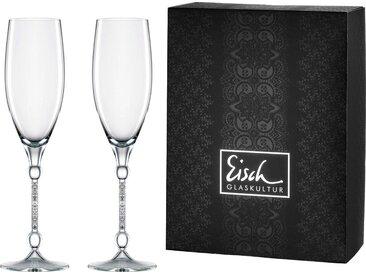 Eisch Champagner-Glas »10 Carat« (2-tlg), handgefertigtes, bleifreies Kristallglas, 280 ml