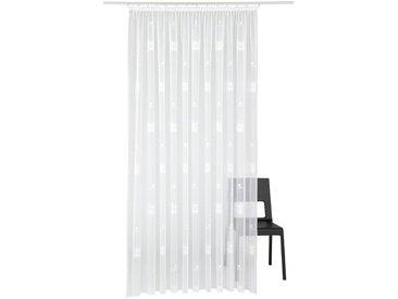 Vorhang , H/B: 225/750 cm, weiß, Material Stoff / Jacquard »Alexa«, Weckbrodt, Gemustert, Unifarben