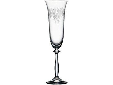 Sektglas , transparent, Spülmaschinengeeignet, »ROMANCE«, , , spülmaschinengeeignet, BOHEMIA SELECTION