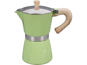Espresso-Kocher Venezia, grün, Material Aluminium / Edelstahl, gnali & zani